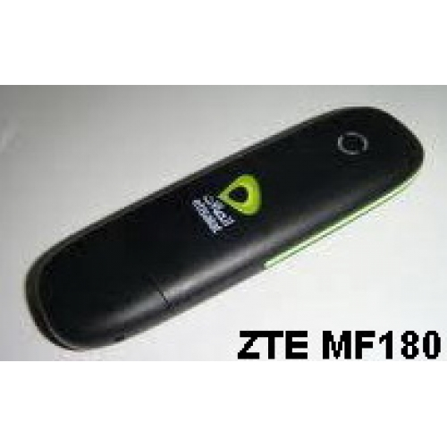 UNLOCKED ZTE MF180 MF 180 MF-180 Win Windows için 3G USB modem